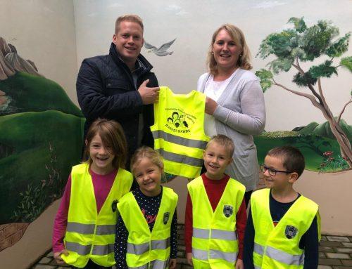 Spende für den Kindergarten Gochsheim