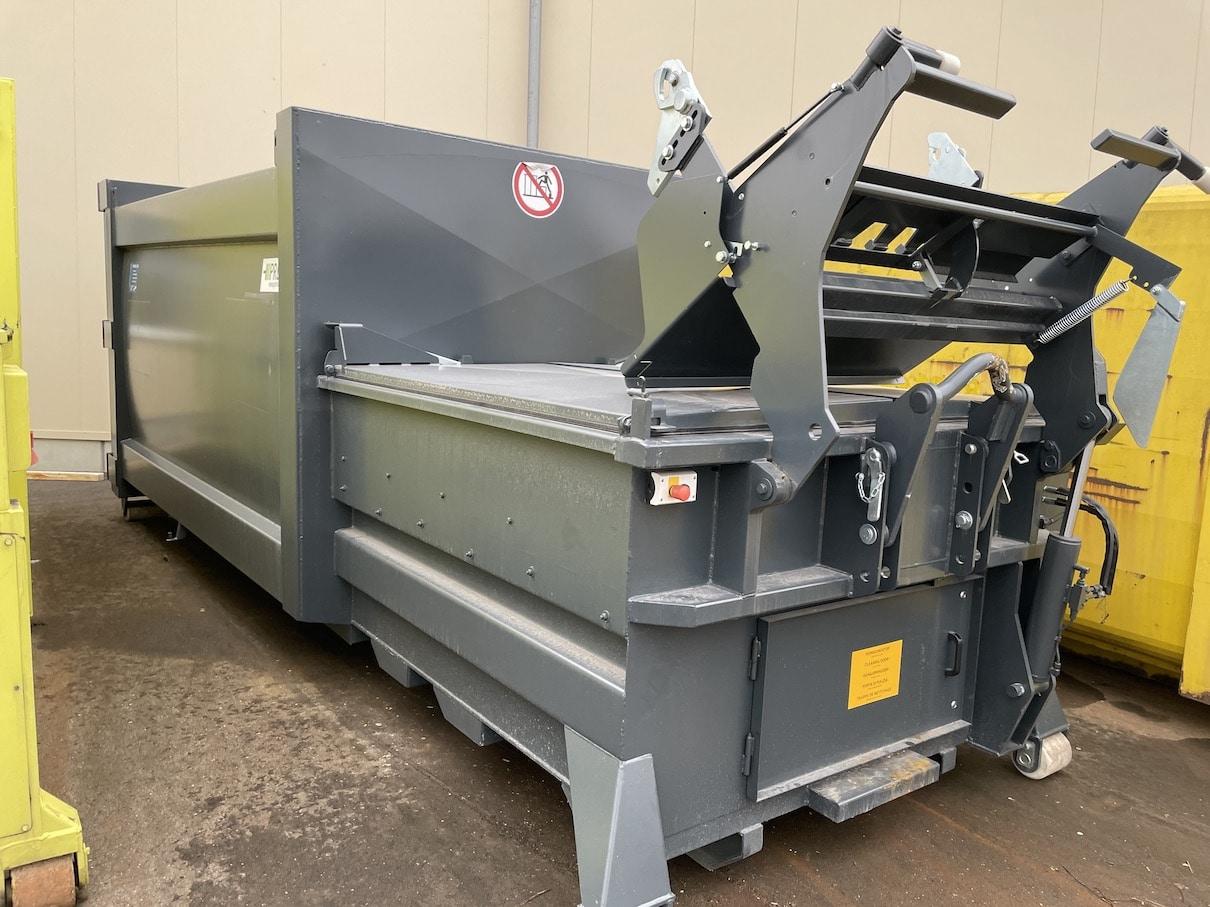 40037 - gebrauchte Presscontainer