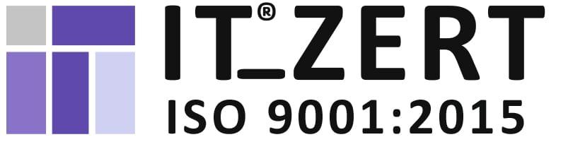 itZert 9001 2015 rgb - News