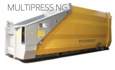 Multipress 1 9 400x244 - Pöttinger Müllpresse