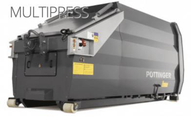 Multipress Abroller 400x244 - Pöttinger Müllpresse