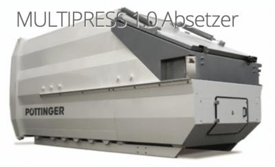 Multipress Absetzer 400x243 - Pöttinger Müllpresse