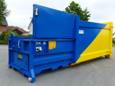 Presscontainer Abroller HGS R 400x299 - PRESTO Müllpresse